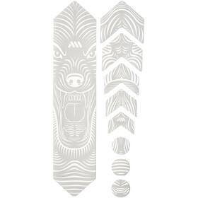 All Mountain Style Basic Kit di Protezione del Telaio 9 pezzi, bianco